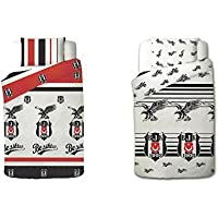 Bettwäsche Besiktas Beşiktaş Nevresim Takımı original 2 Design Varianten