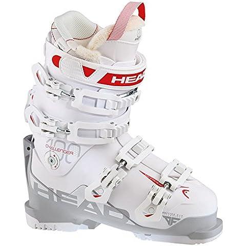 Head–Botas de esquí para mujer, todas las estaciones, color  - blanco/rojo, tamaño 25