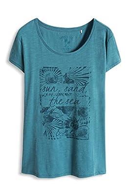 edc by Esprit Women's 066cc1k001 Short Sleeve T-Shirt