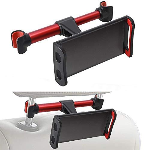 Supporto Auto Poggiatesta per Tablet Universale Supporto da Morsetto per iPad per Tablet da 4 11 Pollici Allungabile Regolabile e 360 Gradi di