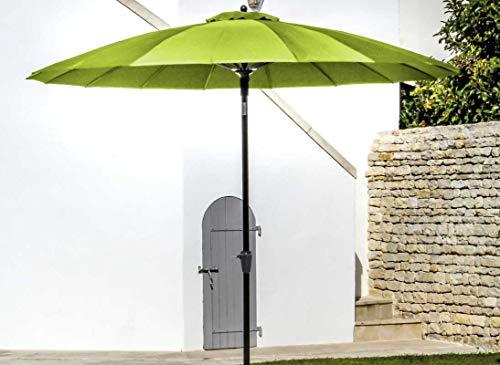 Proloisirs - Parasol droit Ø 300 cm Pagode vert anis