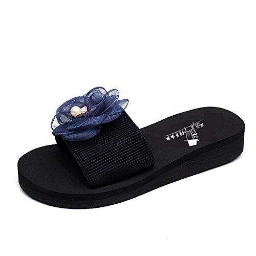 Sandales antidérapantes à la mode d'été Chaussons épais et épais pour une plage de sable de 18 à 40 ans ( Couleur : #5 , taille : 37 ) #1