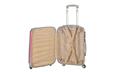 Valise bagage cabine 50cm - Trolley ABS ultra Léger - 4 roues pour voler avec EasyJet - Ryanair