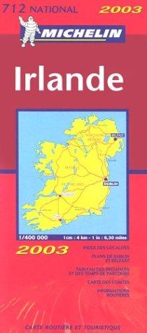 Carte routière : Irlande, N° 11712