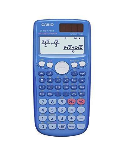 Casio Calculatrice scientifique fx-85gtplusblue