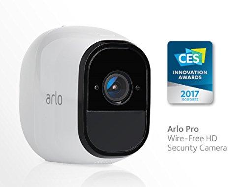 Netgear Arlo Pro VMS4430-100EUS wiederaufladbare Smart Home 4 HD-Überwachungs Kamera-Sicherheitssystem (100% kabellos - 2