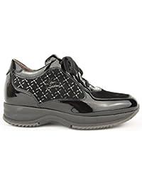 Sneaker Active lucide con strass Nero Giardini art. A616061 6061