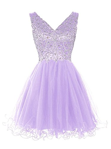 ivyd ressing robe ligne zaertlich Embout A porteur Los Prom Party robe robe du soir Lilas