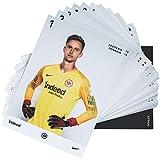 Eintracht Frankfurt Autogrammkarten, Sammelkarten, Autographs Card Team 2018/19 SGE - Plus Lesezeichen I Love Frankfurt