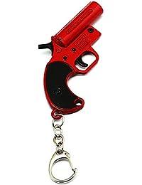 ZA eShop PUBG Game Flare Gun Collectible Metal Keychain for Car Bike Men  Women Keyring b7314bfc7f