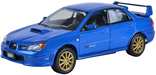 richmond-toys-124-subaru-impreza-wrx-sti-die-cast-collectors-model-metallic-blue