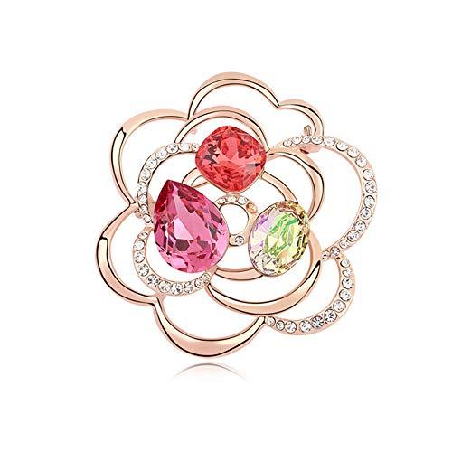 Comfot Lunar New Year Vintage-Element Crystal Necklace Hochzeits-Dress Dekorationsgeschenk für Mädchen,003