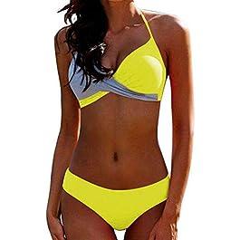 JFan Donna Costume da Bagno Push Up Imbottito Reggiseno Bikini 2019 Donna Due Pezzi Swimwear Abiti da Spiaggia
