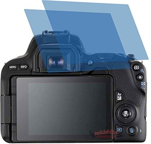 2X ANTIREFLEX matt Schutzfolie für Canon EOS 200D Premium Displayschutzfolie Bildschirmschutzfolie Schutzhülle Displayschutz Displayfolie Folie - Canon Kamera-ladegerät Eos