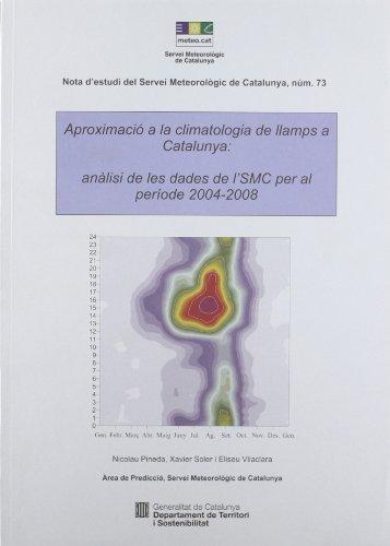 Descargar Libro Aproximació a la climatologia de llamps a Catalunya: anàlisi de les dades de l'SMC pel període 2004-2008 (Notes d'estudi del Servei Meteorològic de Catalunya) de Xavier Soler Temprano