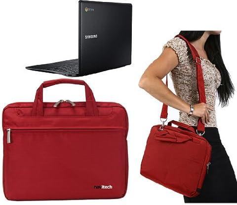 Navitech sacoche de transport rouge pour MSI S30
