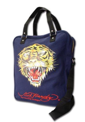 Ed Hardy Tasche - Postmanbag Tiger - unhappy