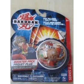 BAKUGAN Series 2 Booster Pack- Brown Centipoid