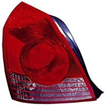 HYUNDAI ELANTRA TAIL LIGHT LEFT (DRIVER SIDE) (SEDAN) 2004-2006 by TYC - 2005 Hyundai Elantra