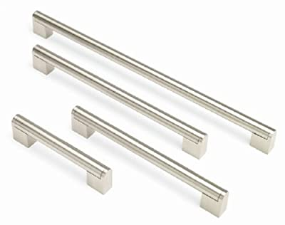 BOSS BAR KITCHEN DOOR HANDLES Doors or Drawers - 128mm to 480mm 7 Sizes Available