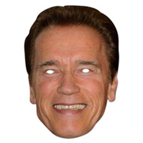 Preisvergleich Produktbild Arnold Schwarznegger Cardboard Mask – Single (Maske / Maske)