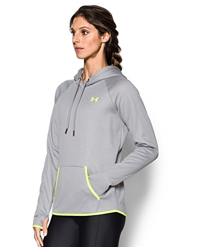 Under Armour Storm Af Icon Hoodie Sweat Femme Gris chiné