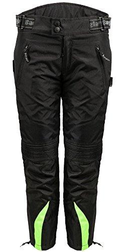 Bangla Kinder Motorradhose Textil 2152 Schwarz gruen 140