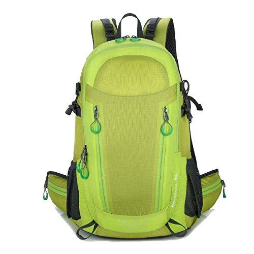 Große Camping Rucksack Tasche Für Camping Wandern Radfahren Bergsteigen Outdoor Sport,Blue Green