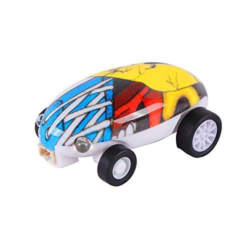 Eternitry Stunt Car Toys Bambini Girando a 360 ° Danza Auto con USB Ricaricabile Bambini Luce Lampeggiante Assorbimento degli Urti Giocattolo per Ragazzi Ragazze Adulto (Colori Casuali)