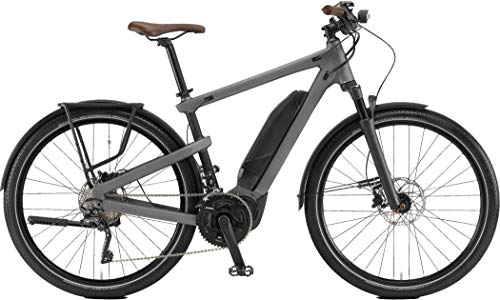 Winora Yakun 500 Pedelec E-Bike Trekking Fahrrad grau 2019: Größe: 43cm