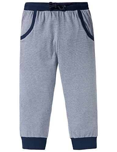 Schiesser Mädchen Mix & Relax Jerseypants 3/4 Schlafanzughose, (Blau 800), 176 (Herstellergröße: L)