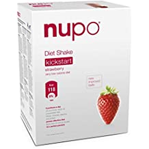 Nupo Diet Shake - Strawberry Very Low Calorie Diet (12 sachets) - Full Meal Replacement Diet from Denmark.