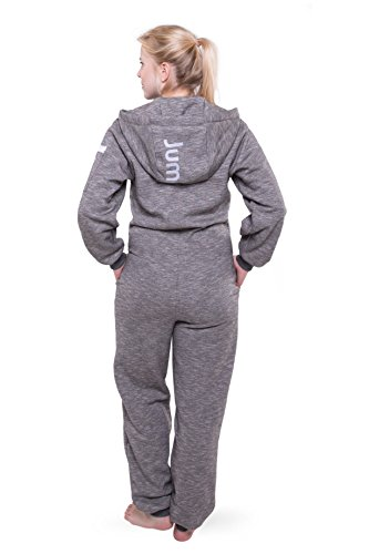Jumpster Damen und Herren Jumpsuit Langer Overall Miami Regular Fit Schwarz L - 4