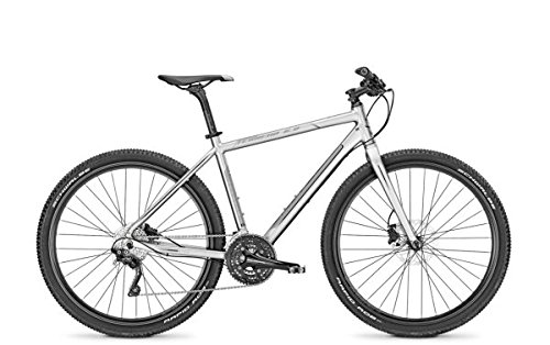 Crossrad-Univega-TERRENO-60-28-30G-Herren-in-silver-mattgrey-Rahmenhhe50