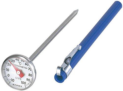 EMPEX (Enpekkusu) capteur rapide thermom?tre thermosensible bleu porte avec de l'argent TD-8256 (Japon importation)