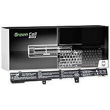 Green Cell® PRO Série Batterie pour Asus X451C Ordinateur PC Portable (Les Cellules Originales SDI, 4 Cellules, 2600mAh, Noir)