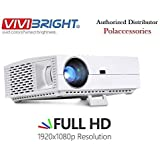 Vivibright F30 Projector 1920*1080p 4k 1080p Full HD led Projector 4200lumens Video Education Home Business Projector