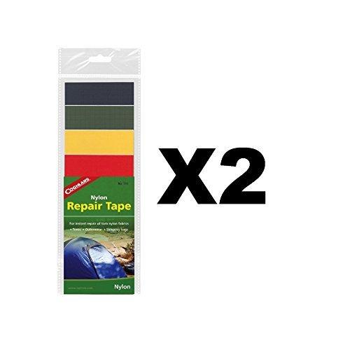Coghlan (Nylon Reparatur Klebeband Rip-Stop Kleber Kit Camping Zelt Jacke (2er Pack) -