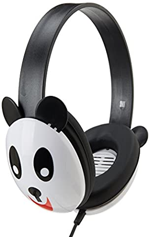 Califone 2810-PA Listening First Kids Stereo Headphones, Panda Design, PC