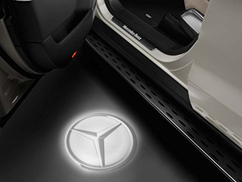 original Mercedes-Benz, LED Projektor, Mercedes Stern transparent