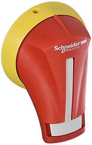 Schneider Electric gs2ah320Externe LH Griff 32–63A, TeSys GS–Rot Externe linken Seite Rotary Griff–für Schalter Disc 32... 63A