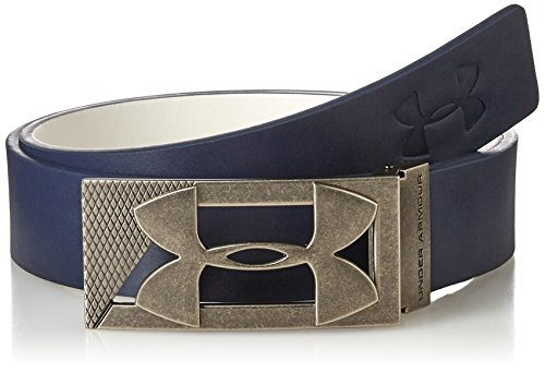 Under Armour 2017 Mens Core PU Leather Regular Fit Golf Buckle Belt-Reversible Academy Waist 32
