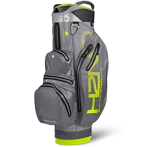 Sun Mountain SUM18HLC Sac de Golf Mixte Adulte, Gris/Gunmetal/Flash