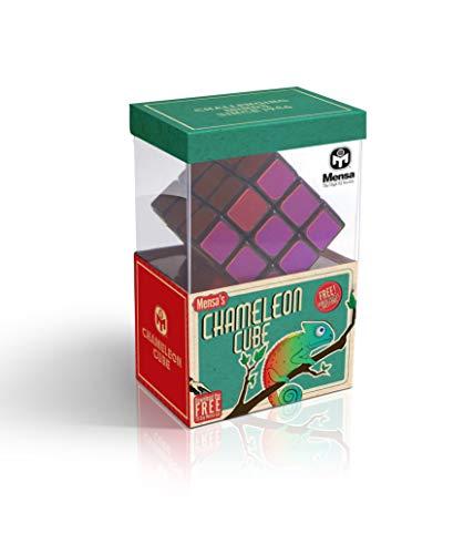Mensa Iq-1081 3D Cube Puzzle, Argent
