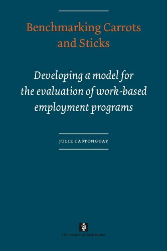Benchmarking Carrots and Sticks: Developing a Model for the Evaluation of Work-based Employment Programs (AUP Dissertation Series)