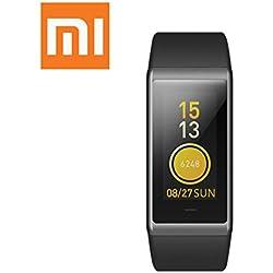 Xiaomi Amazfit Cor Band 1.23 pulgadas IPS Pantalla a color Smart Wristband Rastreador de fitness Monitor de frecuencia cardíaca Impermeable 50m 7 días Pronóstico del tiempo Actividad Pulsera para mujeres y hombres Negro