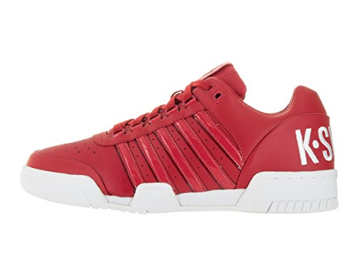 K-SWISS SHOE GSTAAD BIG LOGO RBN RED/WHITE Q1 ruban rouge / Blanc