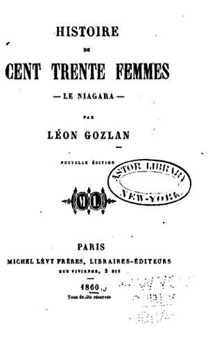 Lire Histoire de Cent Trente Femmes, le Niagara epub pdf