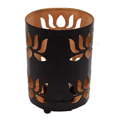 Hashcart traditionellen Tee Licht Kerzenhalter/Metall Kerze Licht Halter Set/Designer Votivkerze Halter Ständer/Tisch Dekorative Kerze Halter, weihgabe Tee Licht für Home Wohnzimmer & Büro