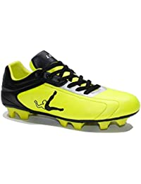 74efdaa17e4b LEGEA Scarpe Uomo Calcio RULL Sport Sportive Giallo Nero SA528